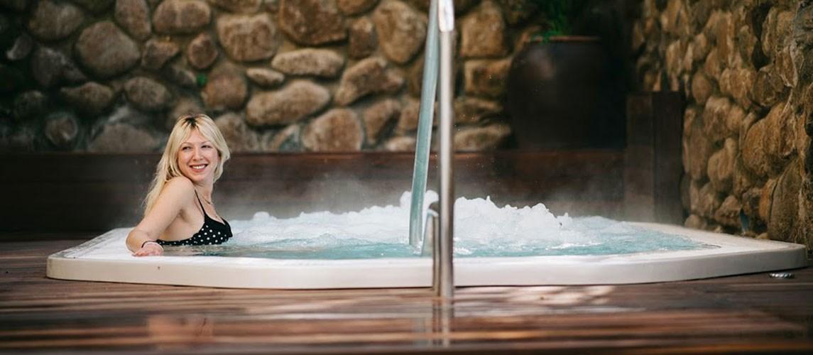 חבילת אמבט זוגית עטופת שמנים