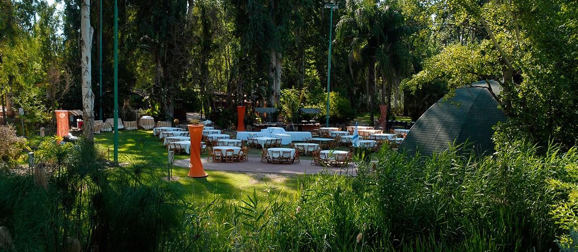 גן ארועים בטבע