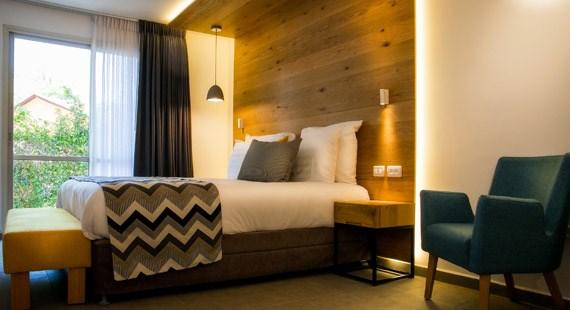 מלון הגושרים - סוויטה פרימיום- חדר שינה